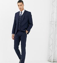 Heart And Dagger Skinny Suit Trouser Navy