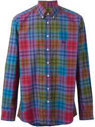 Etro Plaid Shirt Multicolour