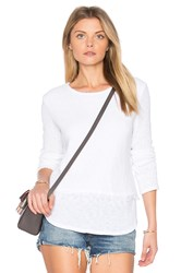 Generation Love Sinclair Fringe Sweater White
