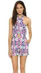 6 Shore Road Chiva Cover Up Romper Atlantic Floral
