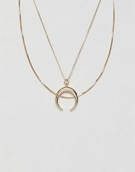 Monki Necklace Gold