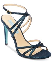 Blue By Betsey Johnson Myla Evening Sandals Turquoise