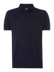Army And Navy North Pique Polo Shirt Navy