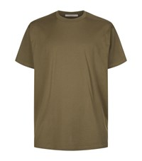 Givenchy Columbian Fit Tonal Logo T Shirt Male Olive