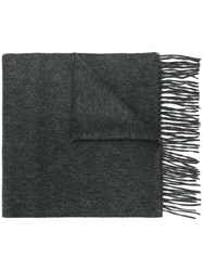 N.Peal Woven Scarf Cashmere Grey