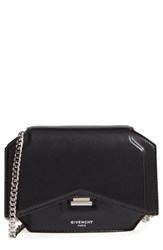 Givenchy 'Bow Cut' Calfskin Leather Wallet On A Chain
