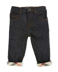 Burberry Relaxed Stretch Jeans Size 6M 3Y Indigo