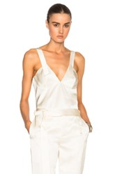 Calvin Klein Collection Gerrie Tank Top In Neutrals