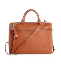 Sandqvist Camel Dustin Leather Satchel
