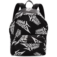 Givenchy Black And White Urban Backpack 004 Blk Wht