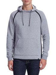 Madison Supply Athletic Fleece Hoodie Grey
