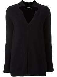 Dondup Split Neck Jumper Black