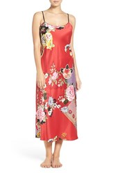 Natori Women's Nightgown Russian Red