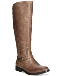 Bare Traps Felicity Tall Boots Women's Shoes Taupe