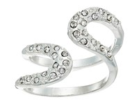 Guess Pave Loop Wrap Ring Silver Crystal Ring