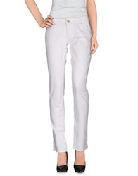 Guess Jeans Trousers Casual Trousers Women White