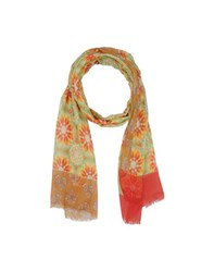 Daniele Alessandrini Accessories Oblong Scarves Women Light Green