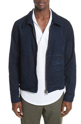 Eidos Napoli Boardwalk Western Trucker Jacket Indigo