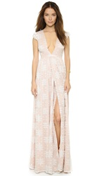 The Jetset Diaries Ethereal Whispers Maxi Dress White