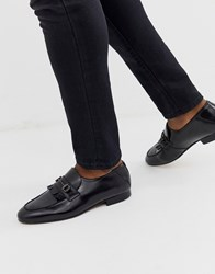 Hudson H By Chichister Bar Loafers In Black Leather