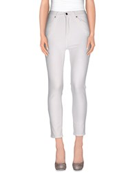 Dr. Denim Jeansmakers Trousers Casual Trousers Women Ivory