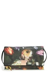 Ted Baker London 'Shadow Flora' Foldover Clutch