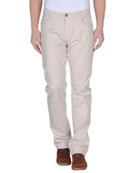 Yes Zee By Essenza Casual Pants Light Grey