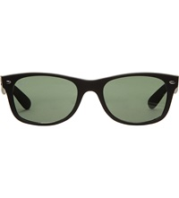 Ray Ban Matte Frame New Wayfarer Sunglasses Rb2132 52 Matte Black
