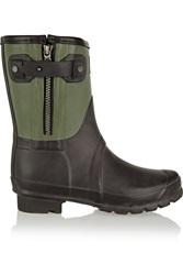 Rag And Bone Hunter Rubber Ankle Boots Green