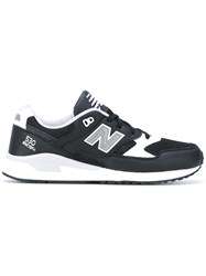 New Balance 530 Leather Sneakers Men Cotton Leather Polyamide Rubber 41.5 Black