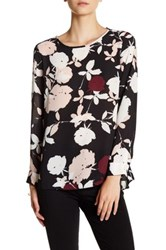 Vince Camuto Chapel Hi Lo Blouse Red