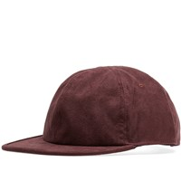 Saturdays Surf Nyc Canyon Suede Cap Burgundy
