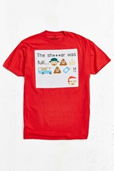 Urban Outfitters National Lampoon's Christmas Vacation Uncle Eddie Tee Red