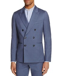 Paul Smith Double Breasted Slim Fit Sport Coat 100 Bloomingdale's Exclusive Soft Blue