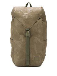 Herschel Supply Co. Barlow Camouflage Backpack Green