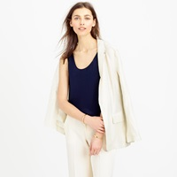 J.Crew Collection Luxe Silk Tank Top