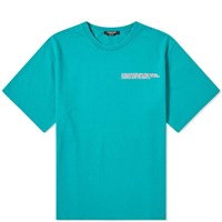 Calvin Klein 205W39nyc Embroidered Logo Classic Tee Green