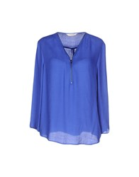 Naf Naf Shirts Blouses Women Blue