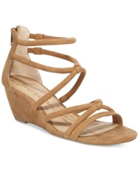 American Rag Calla Demi Wedge Sandals Only At Macy's Women's Shoes Camel