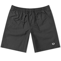Fred Perry Authentic Technical Swim Short Black