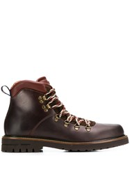 Brimarts Lace Up Boots Brown