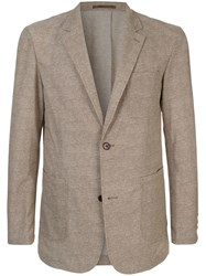 Loveless Lightweight Blazer Brown