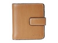 Lodis Audrey Petite Card Case Wallet Toffee Bi Fold Wallet Brown