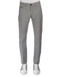 Berluti Five Pocket Denim Pants Dark Gray