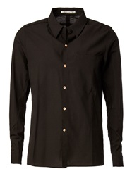 Individual Sentiments Creased Casual Shirt Black