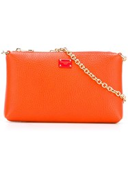 Dolce And Gabbana Mini Shoulder Bag Yellow Orange