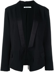 Alexander Wang Shawl Collar Blazer Black