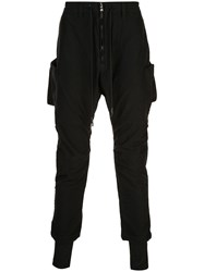 The Viridi Anne Classic Jogger Trousers Black