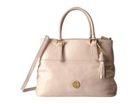 Tommy Hilfiger Summer Of Love Pebble Shopper Blush Handbags Pink
