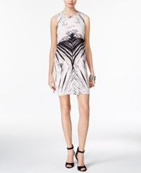 Bar Iii Printed Shift Dress Only At Macy's Ballet Pink Combo